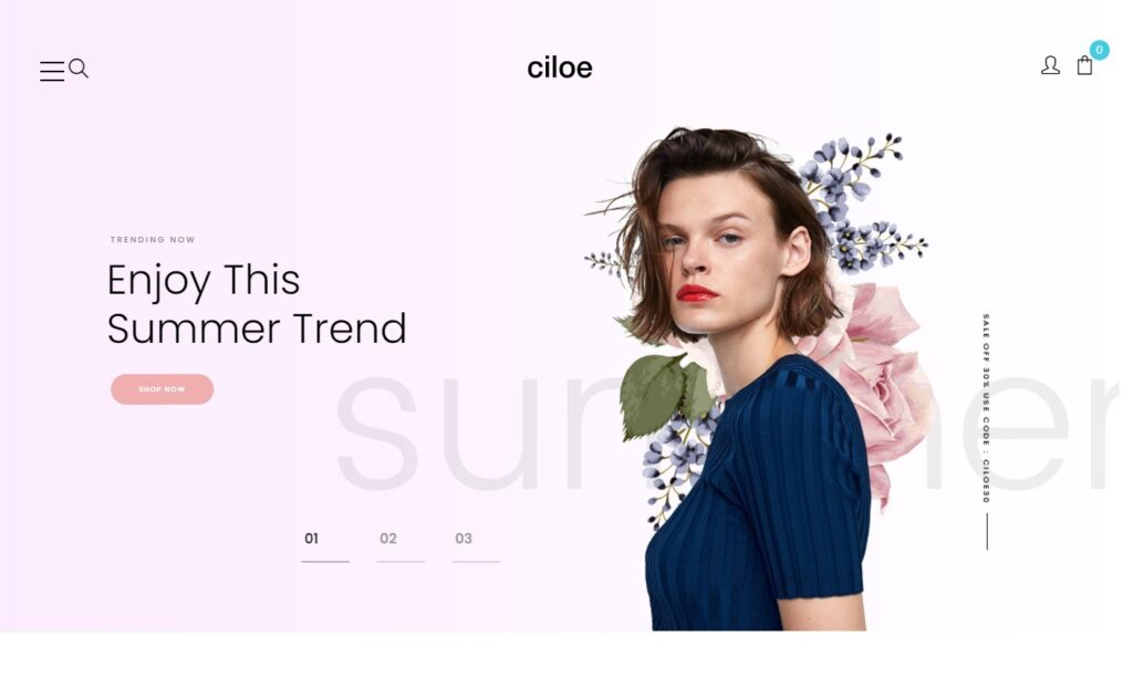 Ciloe – Minimal Clearn Beautifull WooCommerce