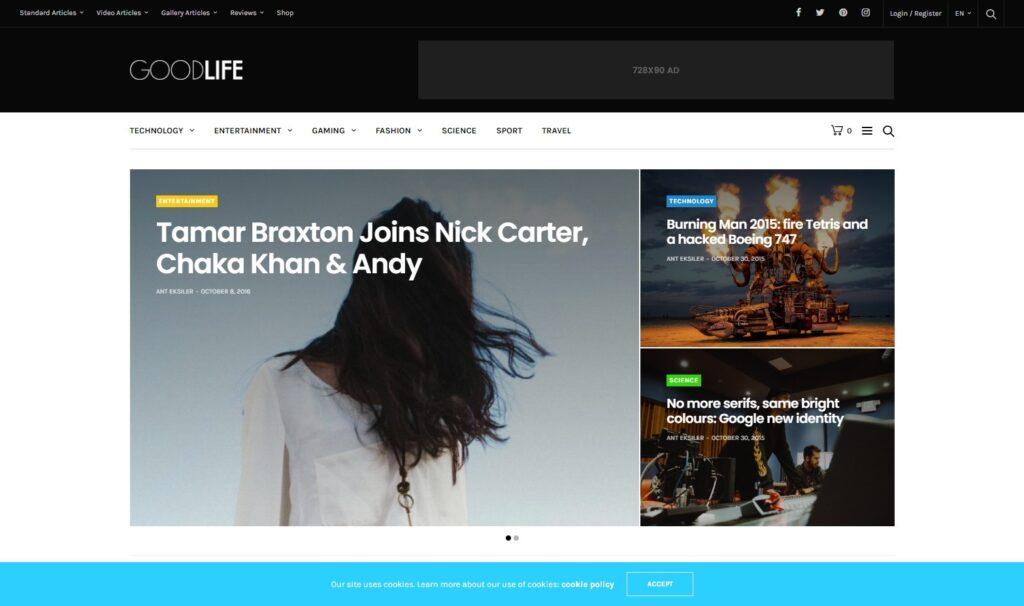 GoodLife – Best Responsive Magazine Theme