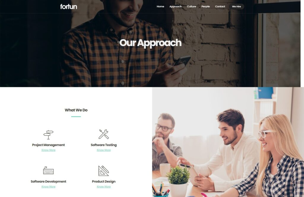 Fortun Multipurpose WordPress Business Theme