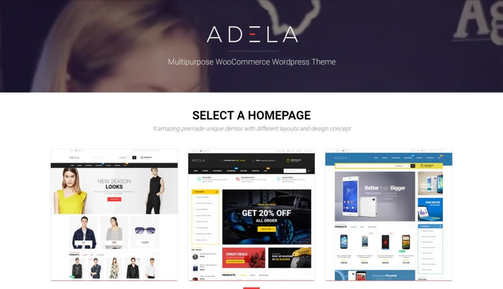 Opal adela Responsive wordpress Theme