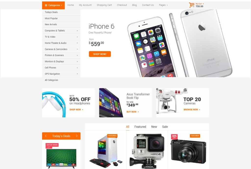 ShopMe Electronics – Premium Woocommerce Theme