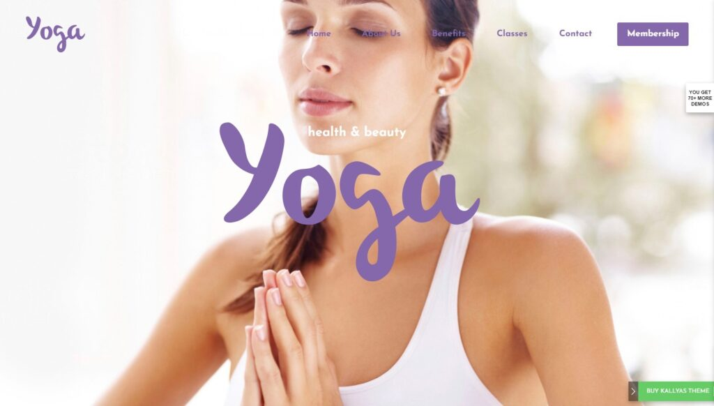 yoga – Just another Kallyas Demo Sites site