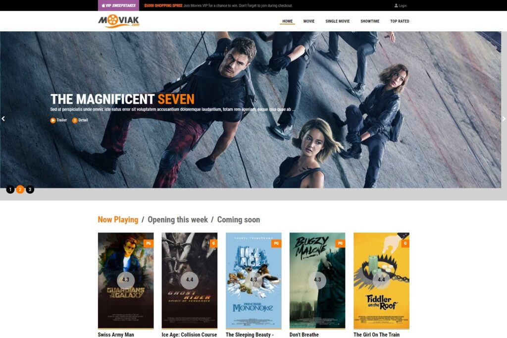 AmyMovie WordPress Theme thats All About Movies