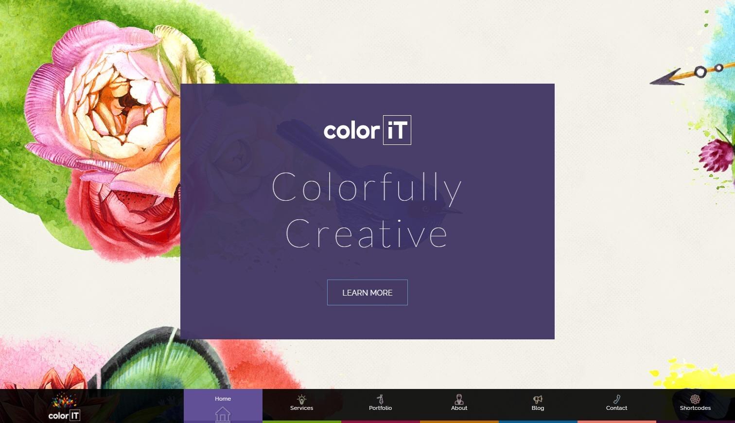 Colorful WordPress Themes