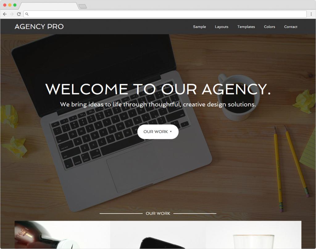 Agency Pro WordPress Genesis Framework App Theme