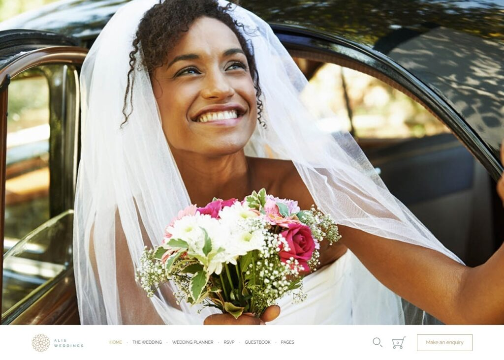 Alis Wedding Planner WordPress Themes