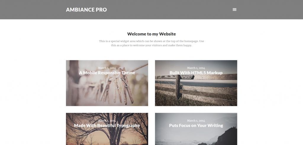 Ambiance Pro WordPress Journal Theme