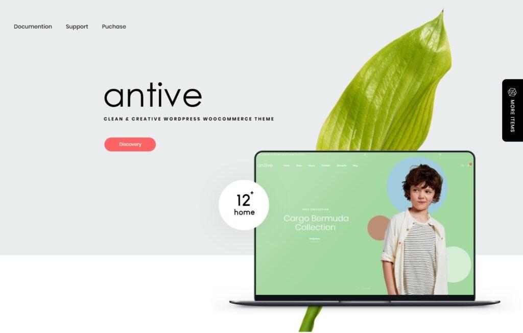 Antive Flat All Purpose WordPress Theme