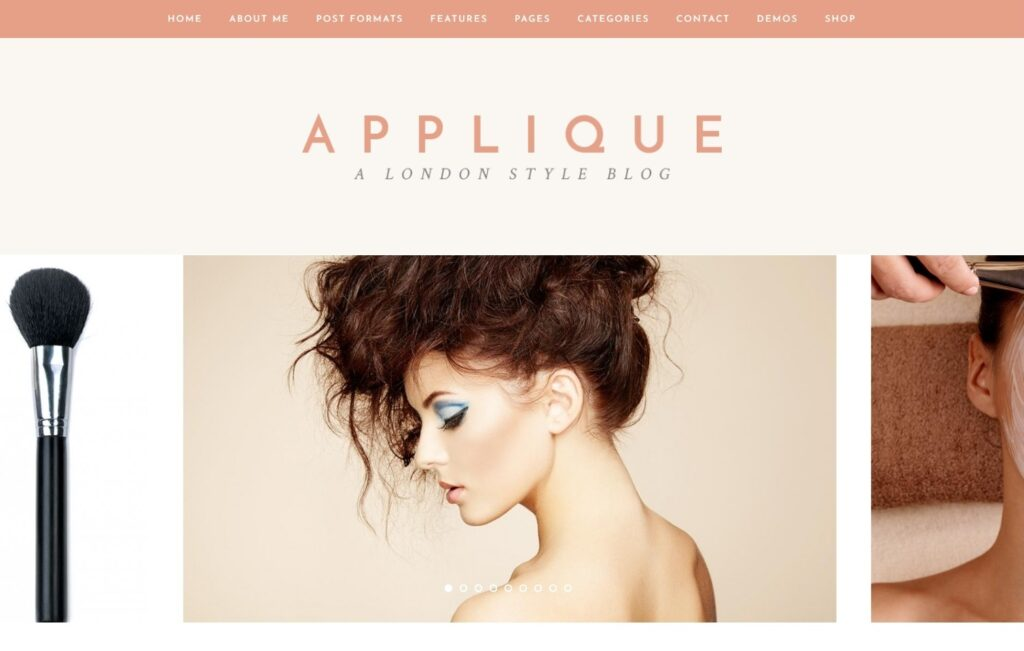 Applique Feminine Theme for Beauty and Inspiration