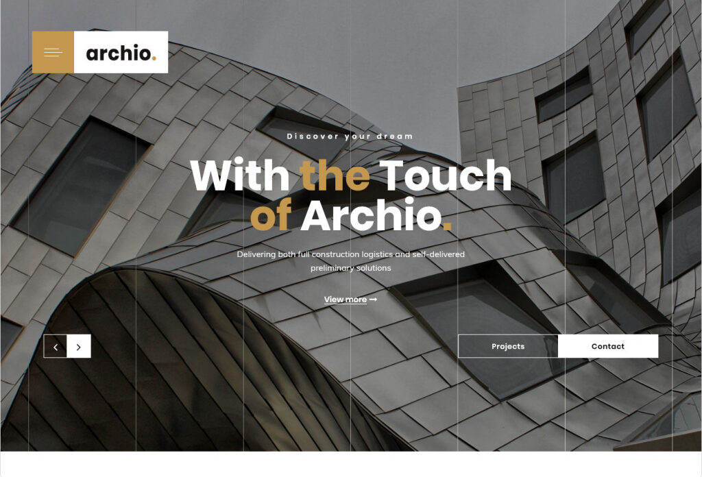 Archio WordPress Architecture Themes