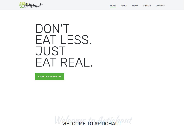 Artichaut Restaurant WordPress Theme