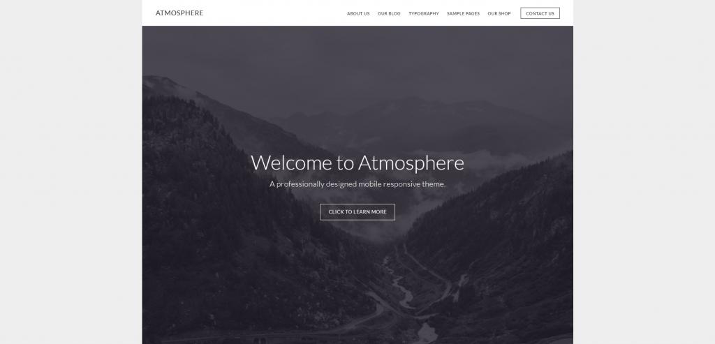 Atmosphere Pro Journal Theme