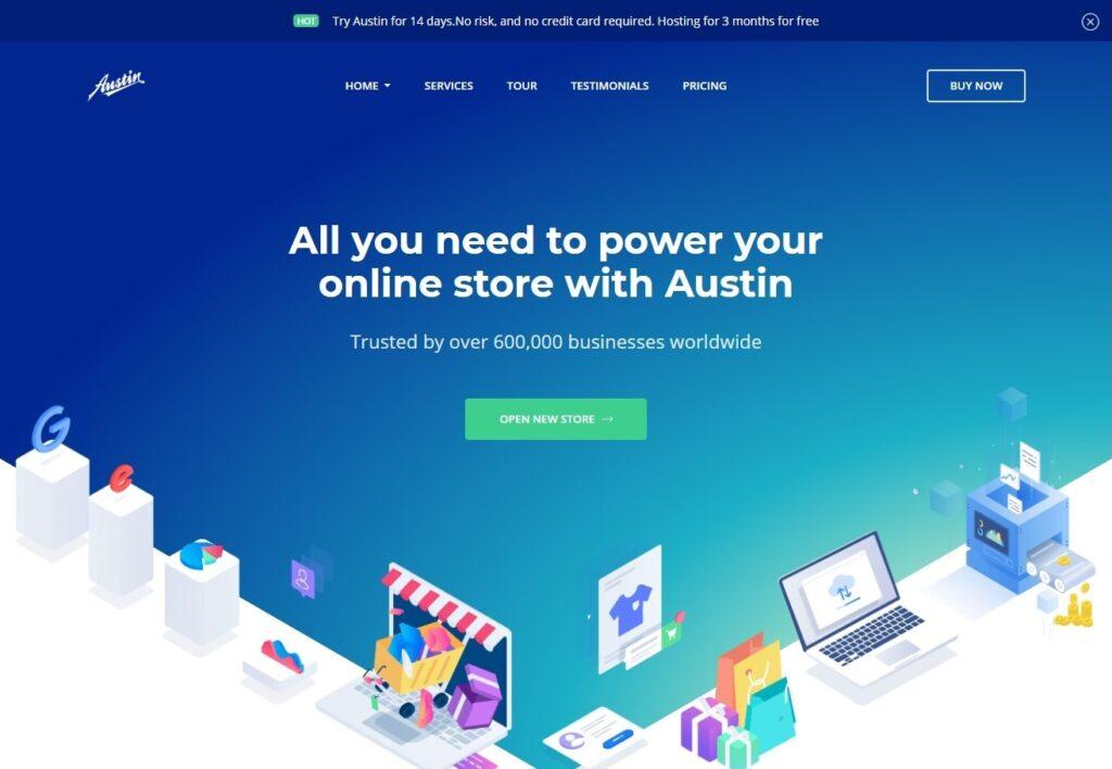 Austin WordPress Theme for Startup Companies