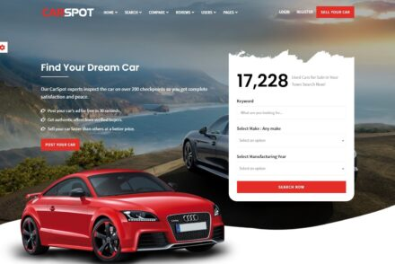 Auto Dealership WordPress Themes