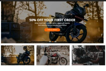Auto Parts WordPress Themes