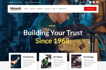 Automotive WordPress Themes