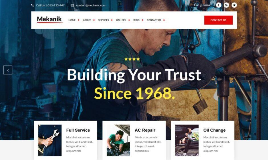 Automotive WordPress Themes