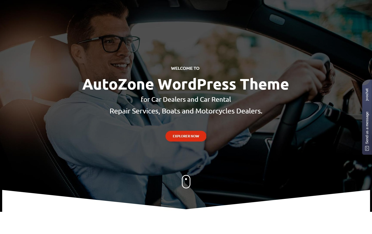 Autozone Full Service Autodealership WordPress Theme