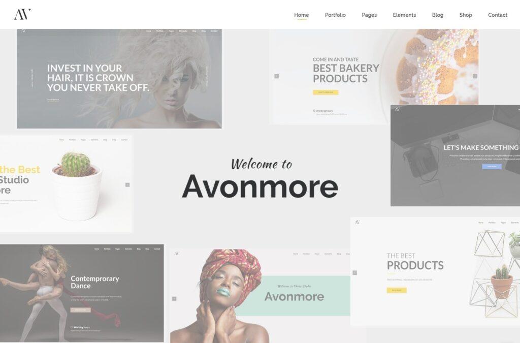 Avonmore Creative Multipurpose WordPress Theme