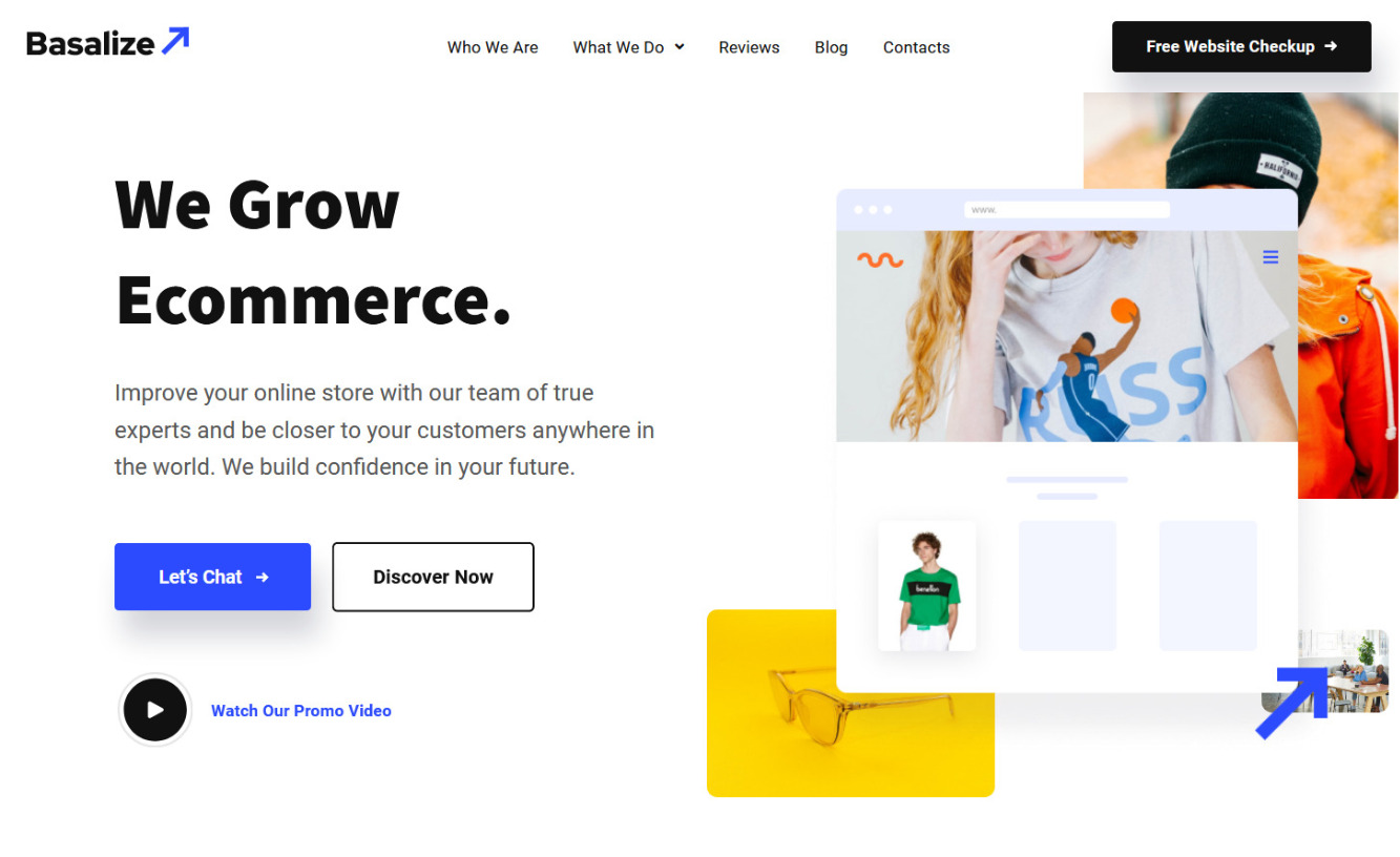 Basalize WooCommerce Consulting Company Theme