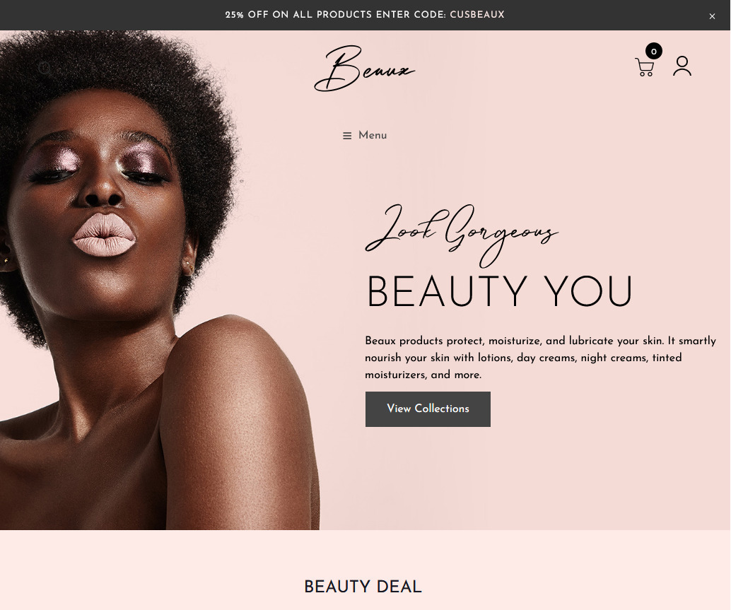 Beaux Beauty Cosmetics Shop