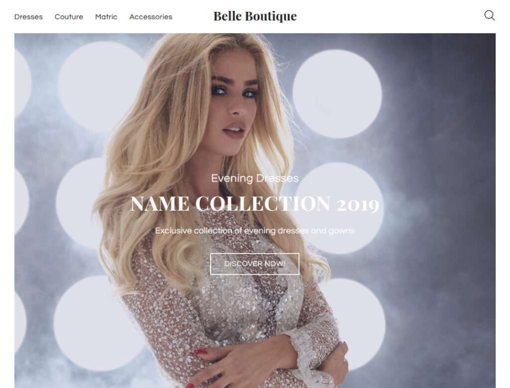 Belle Boutique WordPress WooCommerce Theme