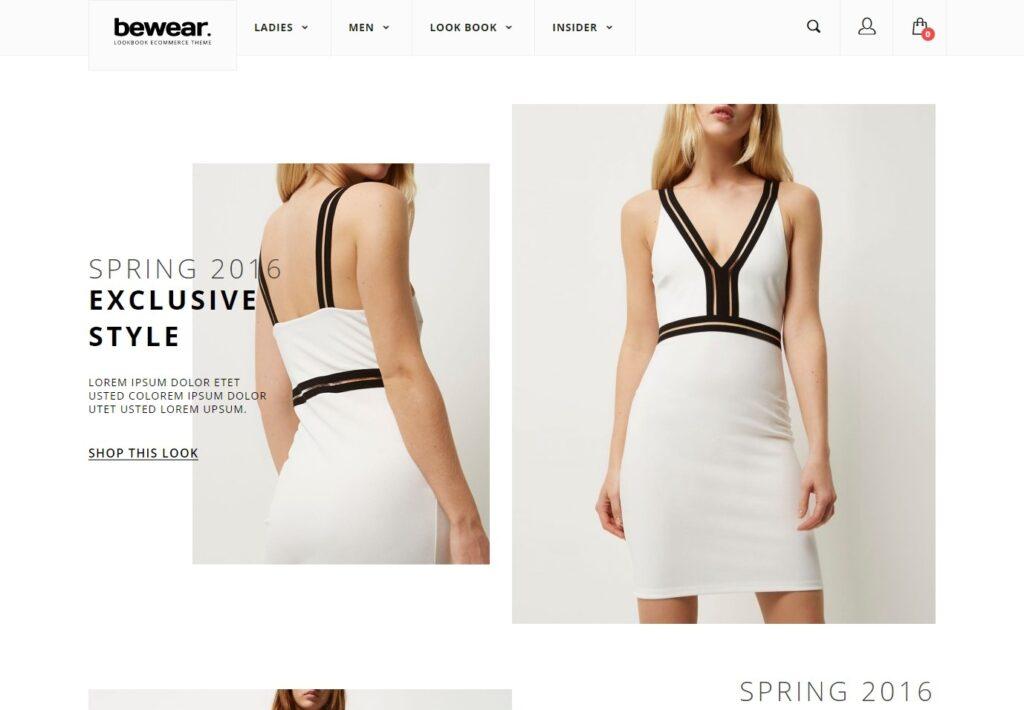 Bewear Fashion LookBook WooCommerce Theme