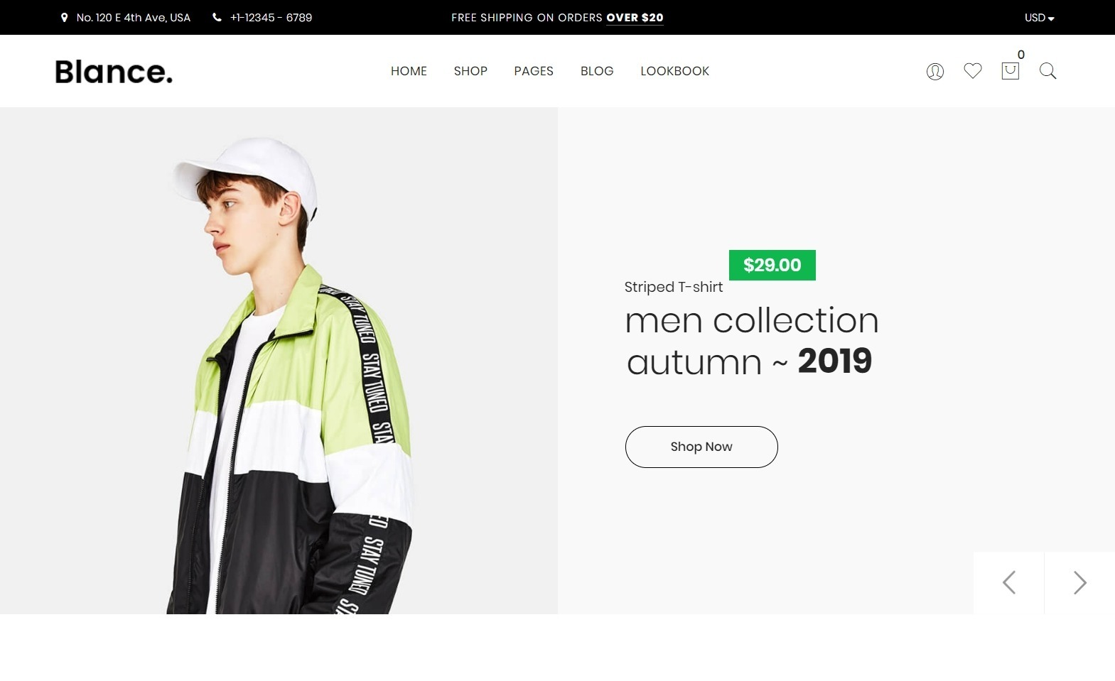 Blance Minimalist WordPress eCommerce Theme