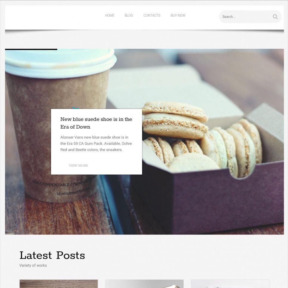 Blogojoy WordPress Minimalist Personal Blog Theme