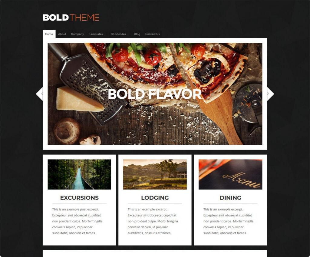 Bold WordPress Travel Blogging Theme