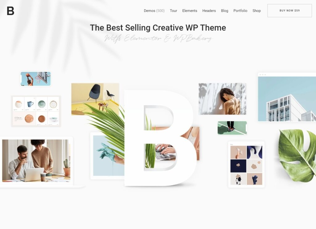 Bridge Creative Theme with Full WooCommerce Shop Support