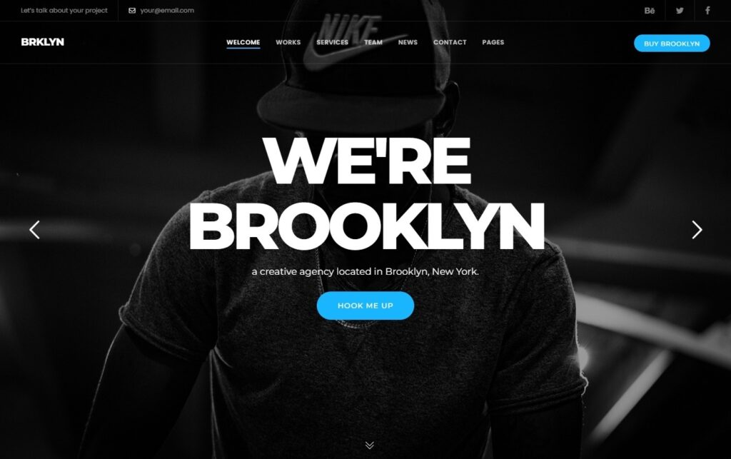 Brooklyn Powerful Page Builder Theme with Elementor Support