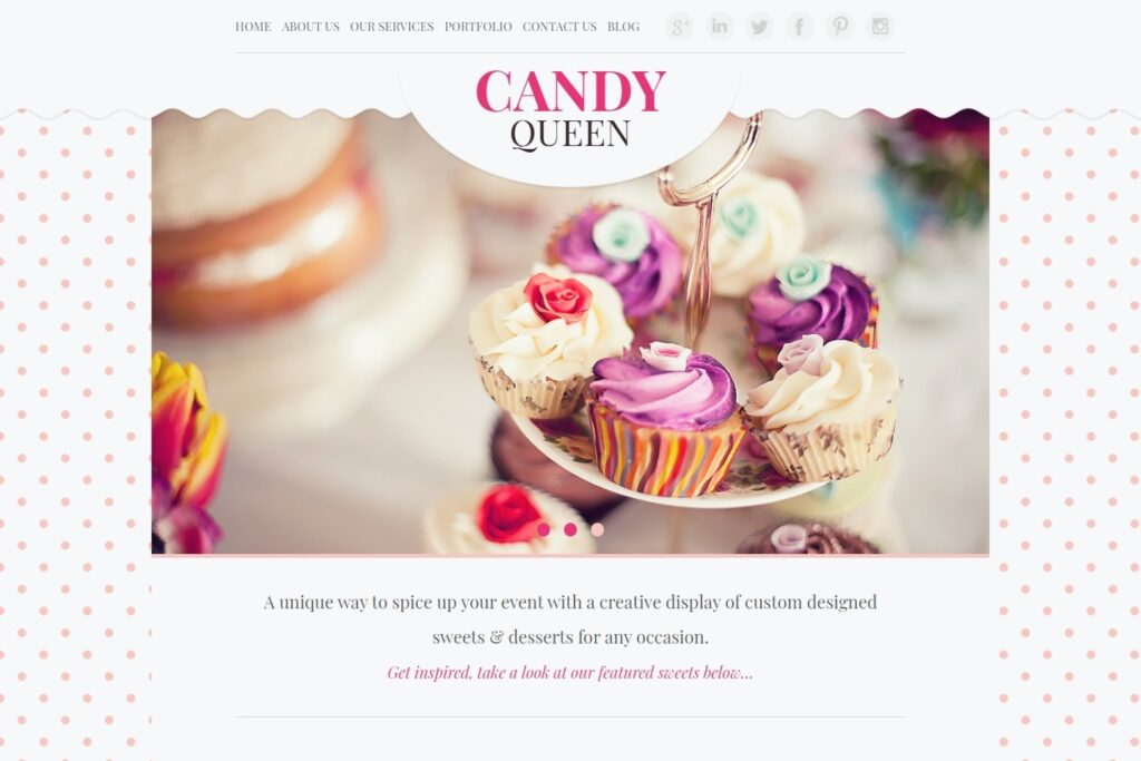 Candy Queen Feminine WordPress Themes