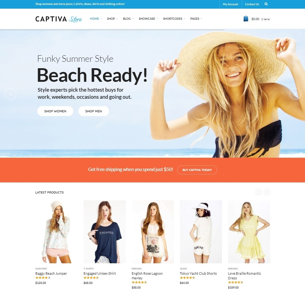 Captiva Slider Theme for WordPress