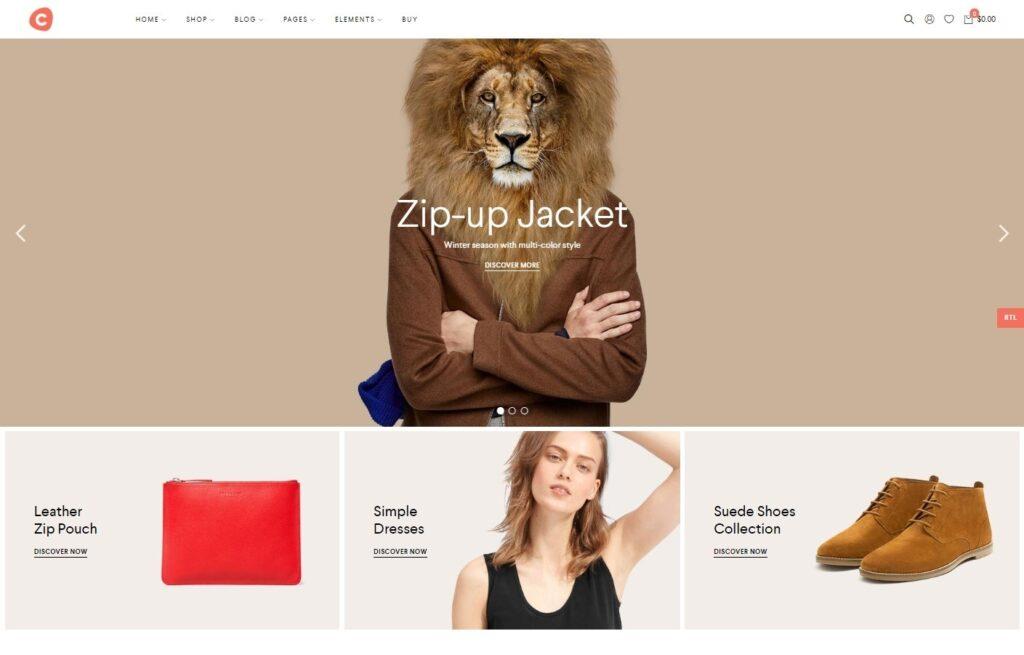 Ciao WordPress WooCommerce Minimal Theme