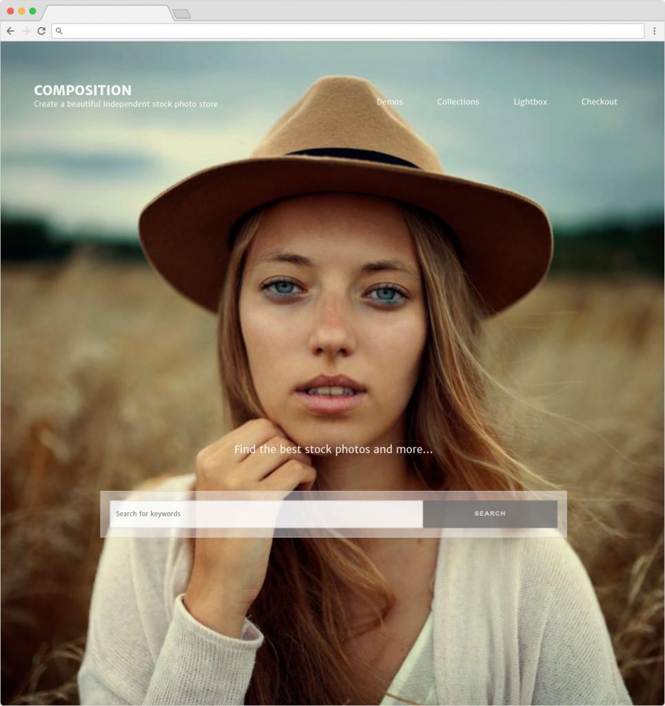 Composition WP Portfolio For Photographers
