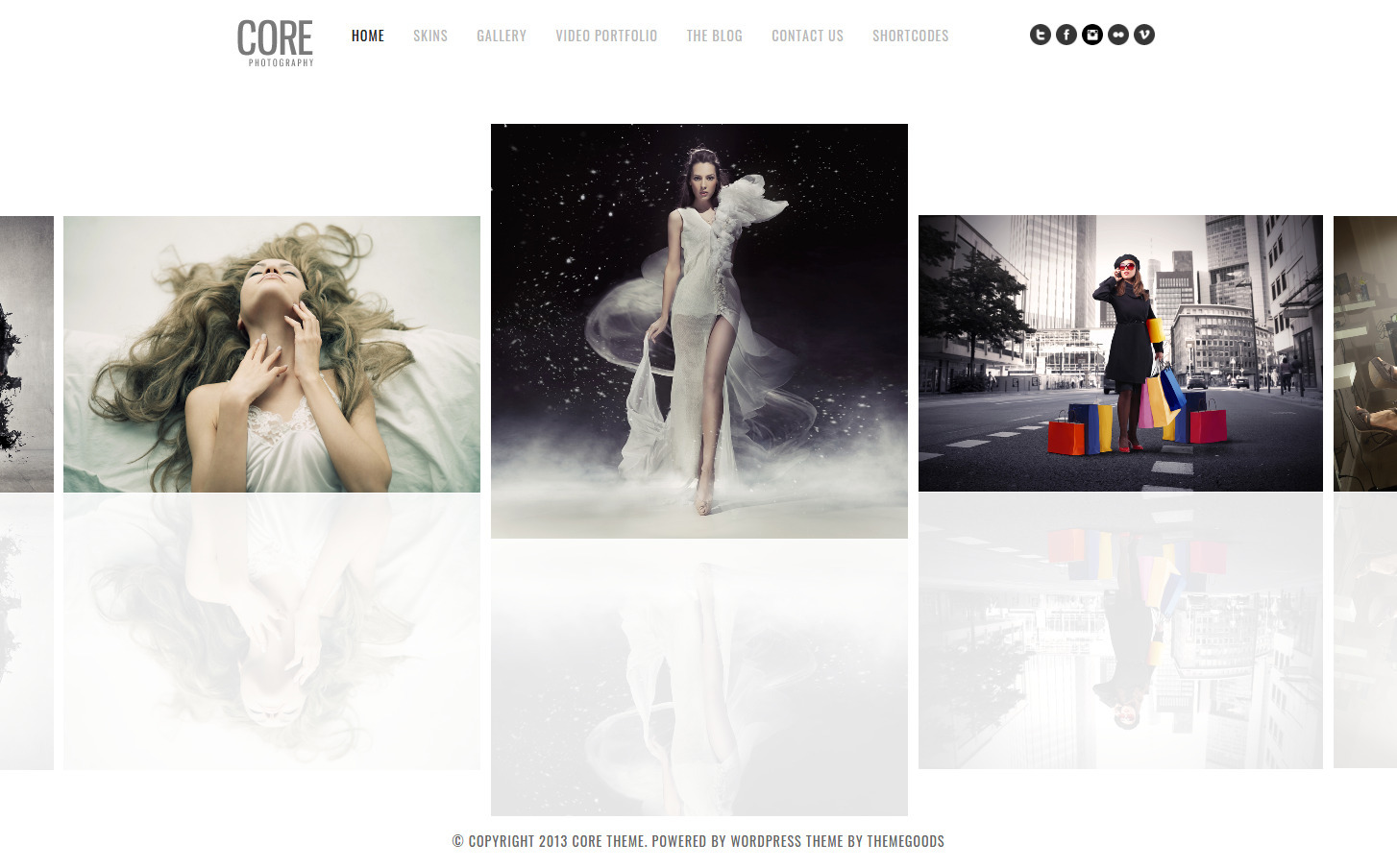 Core Photography Portfolio WordPress Theme