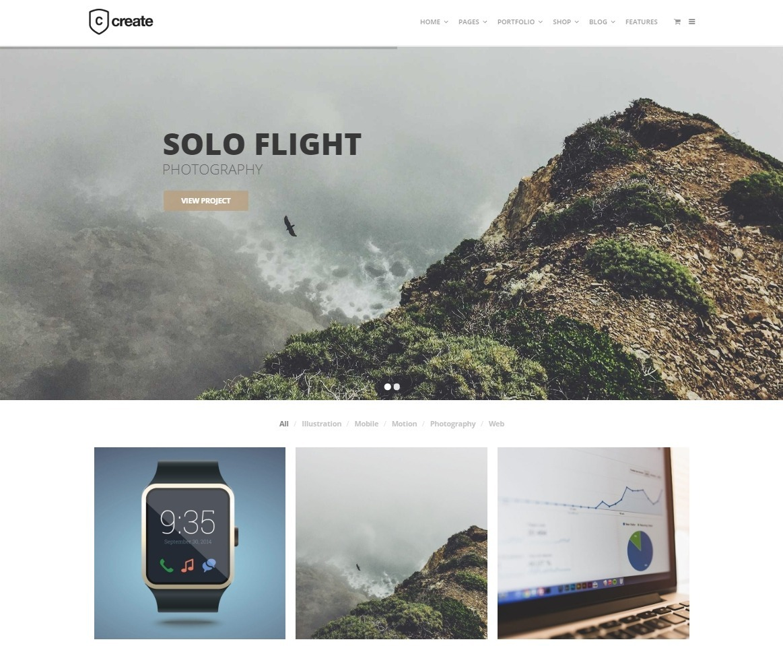 Create Simple Portfolio Theme with Powerful Slider