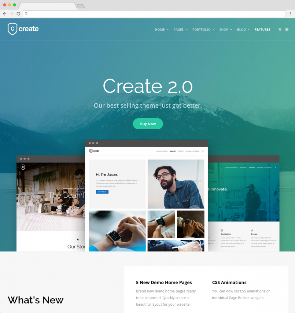 Create WordPress Startup And Creative Agency WP Theme