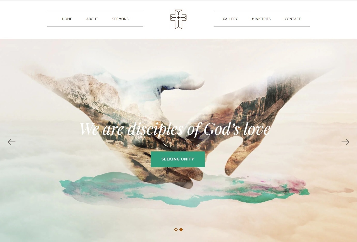 Creed WordPress Theme for Churches and Religious Services