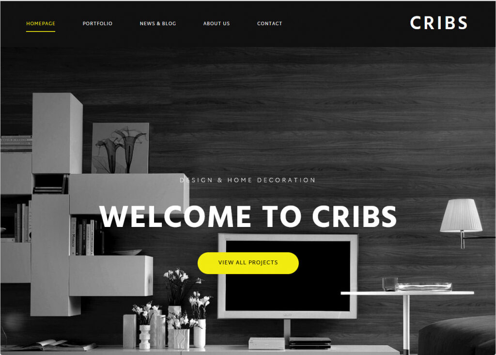 Cribs Architecture And Interior Design Theme