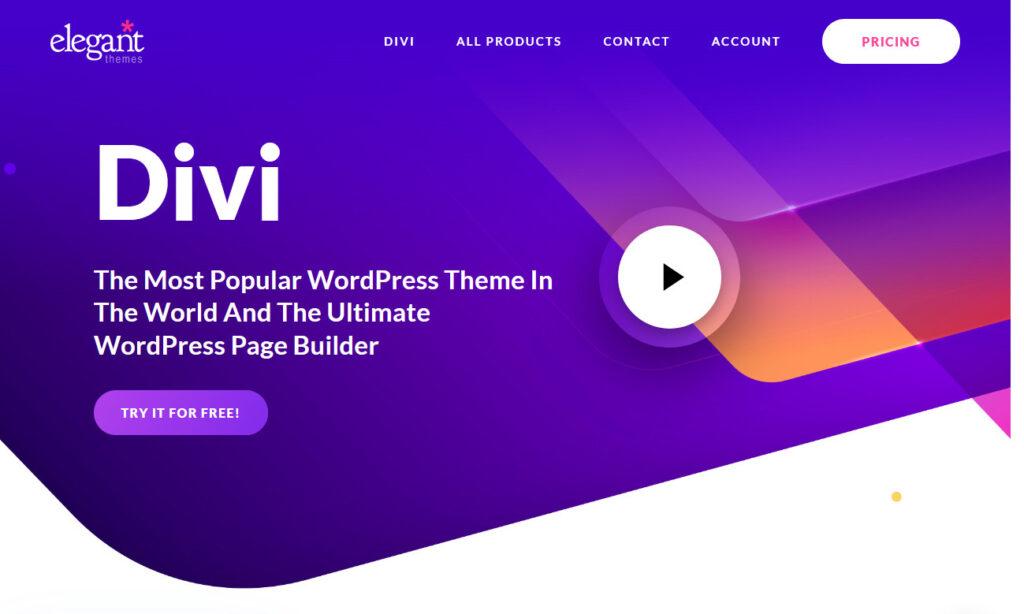 Divi Premium Quality Personal Blogging Theme
