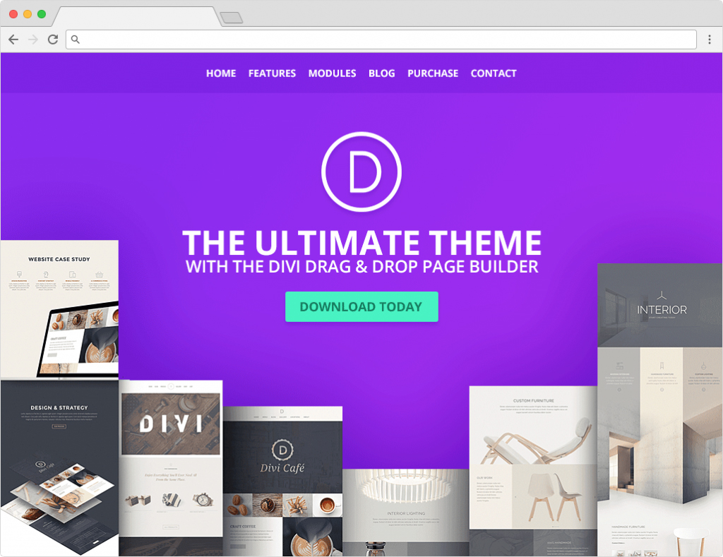 Divi WordPress Personal Blog Theme