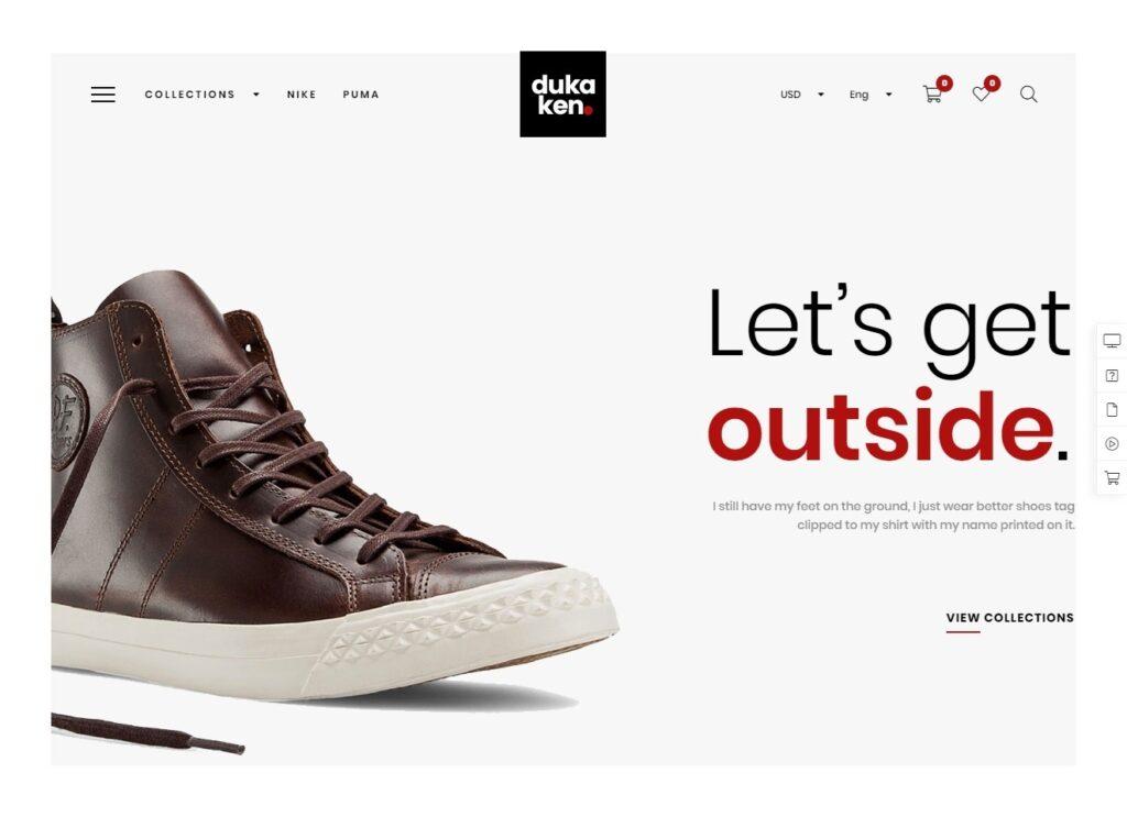 Dukaken Clean Minimal WooCommerce WordPress Theme
