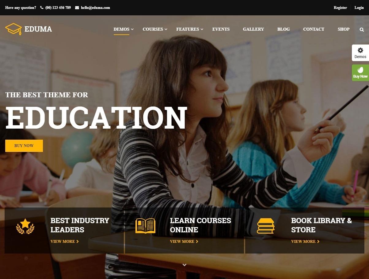 Eduma Premium Education WordPress Theme for LMS