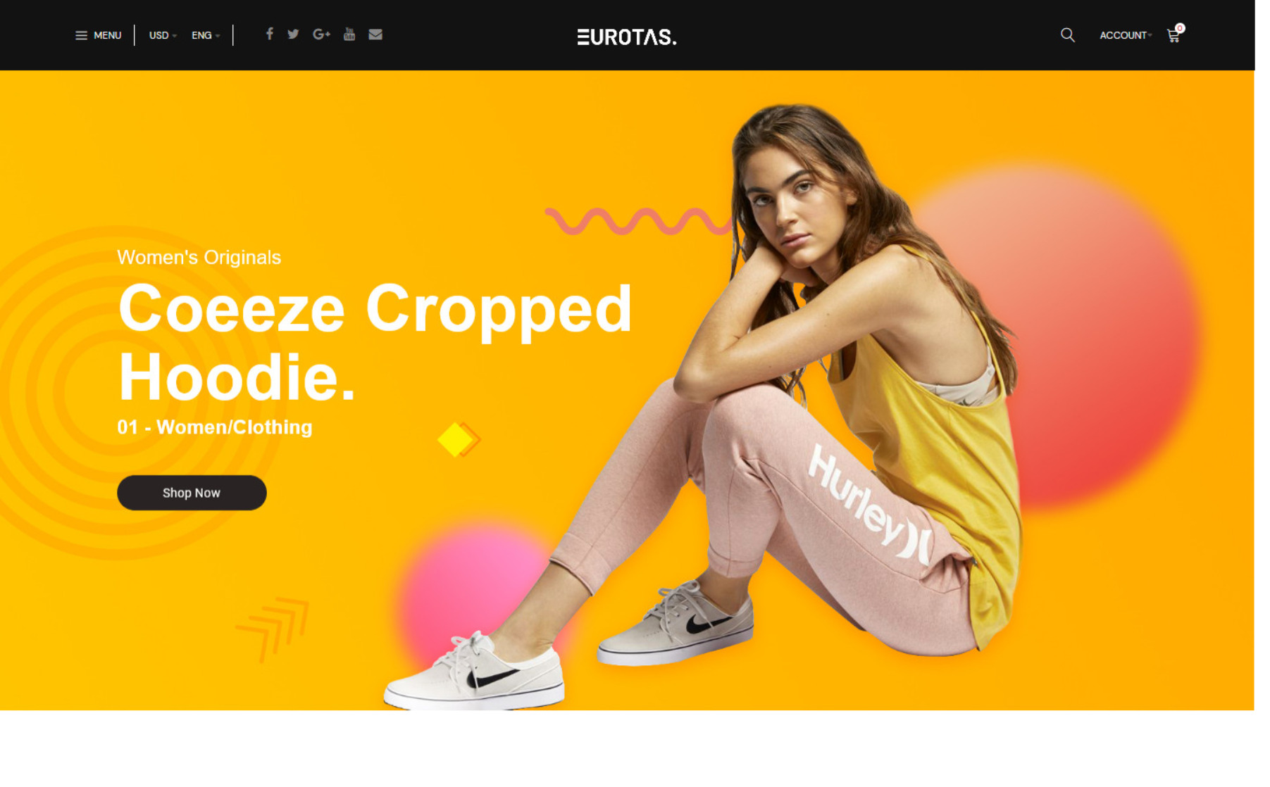 Eurotras WooCommerce WordPress Theme