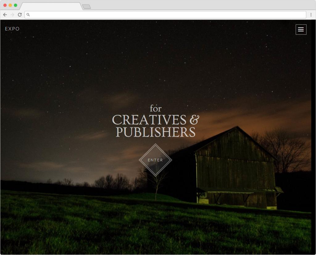 Expo Creative Artistic Portfolio Theme