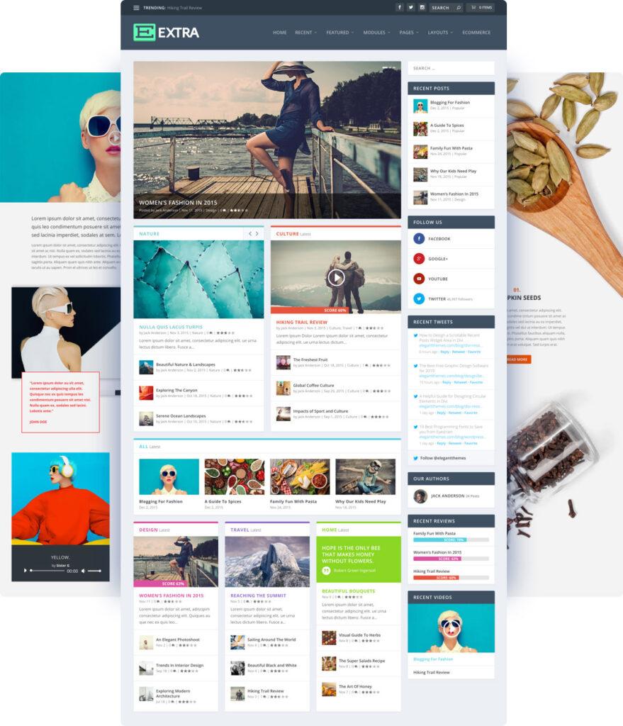 Extra WordPress Digital Publishing WordPress Theme