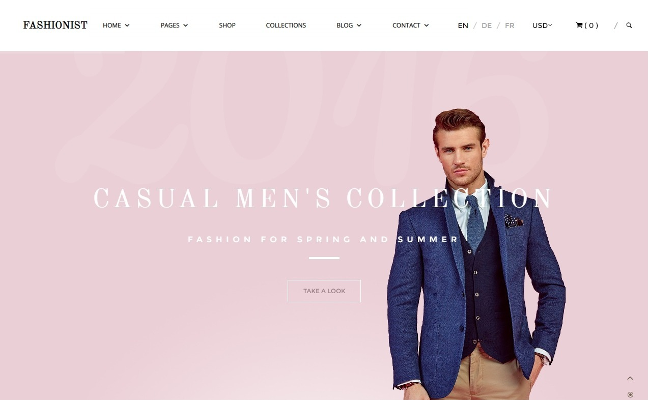 Fashionist WordPress eCommerce Theme for Fashion