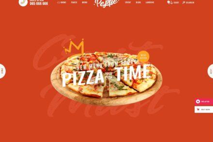 Fast Food Restaurant WordPress Themes